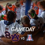 It's GAMEDAY!  Auburn and Arizona play on @espn at 1 p.m...4 p.m. if necessary game to follow  #WarEagle https://t.co/JKIcbALTeG