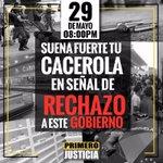 Hoy los sectores populares de Caracas y toda Venezuela darán #CacerolazoALasOcho en contra de la crisis que vivimos https://t.co/uHgbdPJU0s