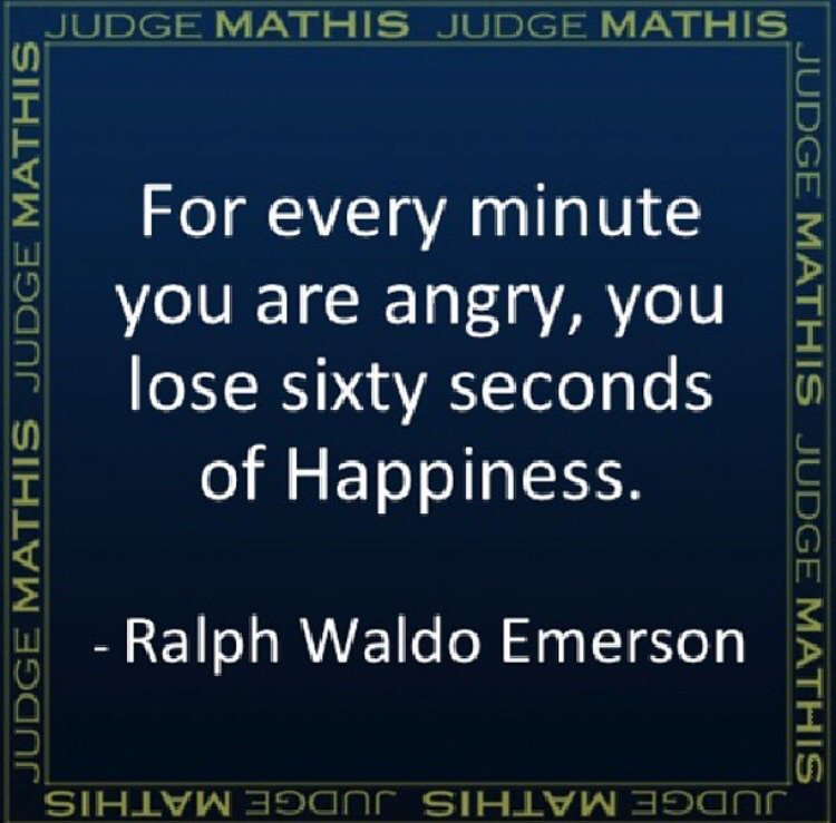 """For every minute you are angry, you lose sixty seconds of Happiness."" - Ralph Waldo Emerson #Quote https://t.co/0rUK3icC97"