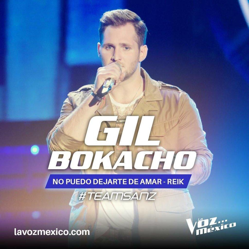 #TeamSanz #LaVozMéxico gracias Coach! @AlejandroSanz luchare por ser tu gallo!!! #TeamGil !!! https://t.co/nuBXyR7GPe