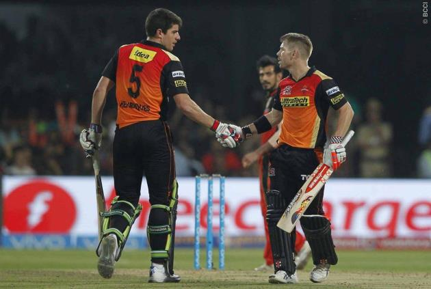 Blues duo Warner and Henriques help @SunRisers to victory in #IPLfinal   STORY | https://t.co/Rwx0CXgTlS https://t.co/16ZMyNx2Gk