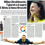 7 hari kedepan akan menentukan bagi Milan, konsorsium China dan Ibrahimovic. https://t.co/1pSjUGpgNq