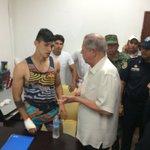 . @puliidooo liberado y visitado por el Gobernador de Tamaulipas #FuerzaPulido https://t.co/ttgr5iJ2xX