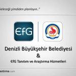 """""""@denizlibld"""", araştırma çözümlerinde Pamukkale Teknokent firması olan EfG Araştırmayı tercih etti. Tebrik ederiz. https://t.co/5aaS2mXqyD"""