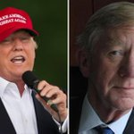 """I don't talk about his alcoholism,"" Donald Trump says of former Mass. governor William Weld https://t.co/m0TRm7i5eN https://t.co/zheGJ3ejev"