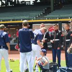 Thank you for your service. #Brewers #MemorialDay https://t.co/xF9b0FTvFT