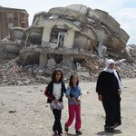 Scenes of destruction in the Kurdish town of Gever following Turkish army attacks. https://t.co/nF51Az6DGR