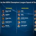 Leffectif de la saison en Ligue des Champions. (via @UEFAcom) https://t.co/QHcWIZ3FHg