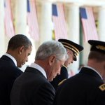 """""""Today, and every day, let us remember the servicemen and women we have lost."""" —President Obama https://t.co/x1lQbyFr2M"""