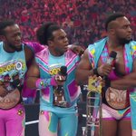 """You mean theres a chance, that you could break up #TheNewDay?!"" - @WWEBigE #RAW @TrueKofi @XavierWoodsPhD https://t.co/ajImWmykv8"