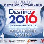 Hoy a partir de las 8:00 p.m. Rosselló y Pierluisi se enfrentarán para exponer sus ideas e… https://t.co/YS9pAnjypZ https://t.co/jmgDlI8ar9