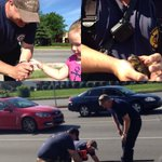 Rescuing baby ducks from a sewer is all in a #MemorialDay2016 s work for @LexKYFire Ladder Co 7 https://t.co/VFhooFdN4y