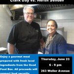 Announcing the Good Food Box Cook-Off! Enjoy a gourmet meal by Clark Day & @HershSehdev on June 23 #ygk #ygkcares https://t.co/XA9cns4BoF