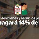 Si los productos que compras están en esta lista, desde mañana los pagarás con 14% de IVA » https://t.co/loU5Onhj4t https://t.co/hcp3KiS9je