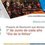 Hoy @AsambleaEcuador conoce proyecto para que se declare #DiaDeLaNiñez https://t.co/JKye9jQISq