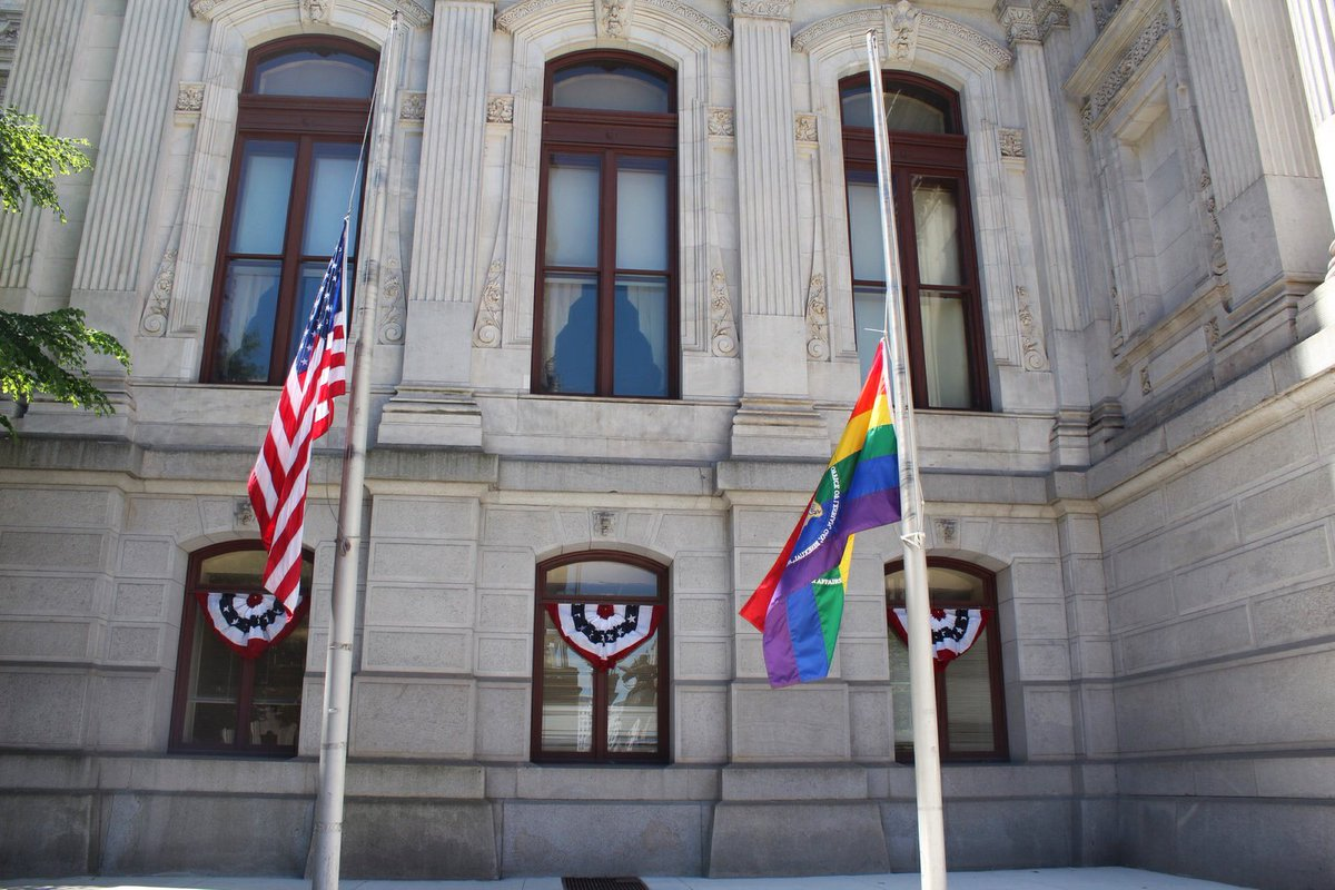 There will be a vigil for the victims of the Orlando shooting tonight at 6:30pm on the North Apron of City Hall. https://t.co/RX5b3VQYxp