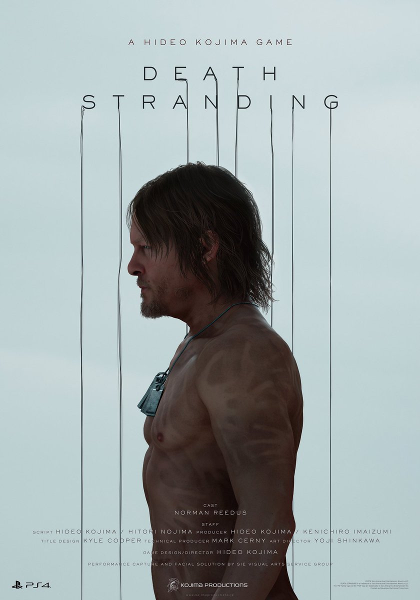 Death Stranding #E32016 #NormanReedus https://t.co/DfCg4fvUBv