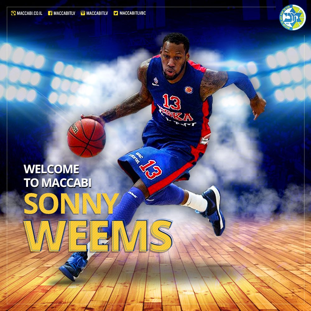 Happy to officially announce the addition of @SonnyWeems13 - one of the @Euroleague's best players in recent years! https://t.co/UgisOuTH6G