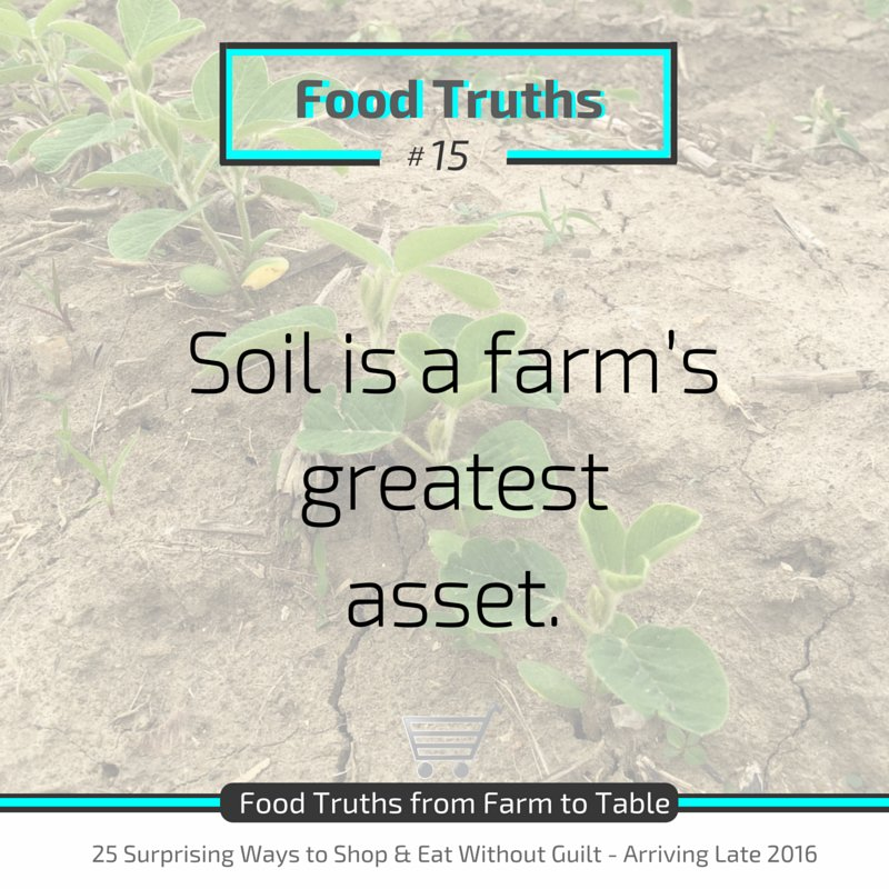 Soil stores 10% of carbon dioxide. It takes 500 yrs. to form 2 cm of topsoil-farmers work hard to take care of #soil https://t.co/KyU4bUyX0b