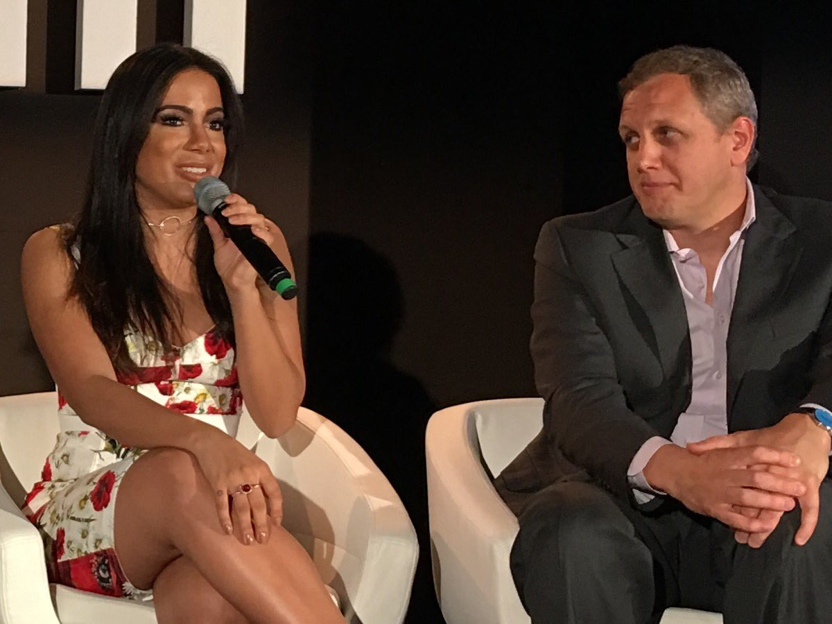 Brazilian star @Anitta is talking about her self-managed career at #midem https://t.co/pDUtaVJLdH
