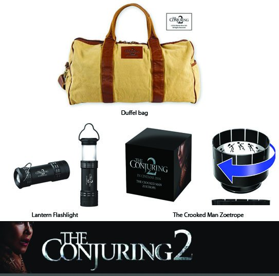 #TheConjuring2 is coming. RT/Follow for a chance to win 1 of 2 prize packs! Winner chosen 6/13 @ 12PM PST. https://t.co/j40NVS7W3c