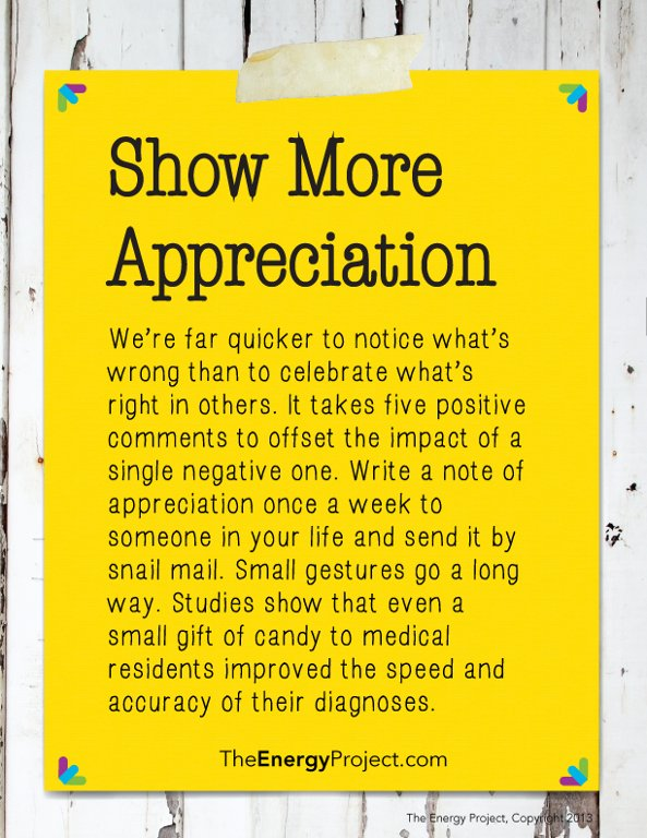 Show more appreciation. Nothing is more important to us than feeling valued and appreciated by others. https://t.co/pF7jcgigHD