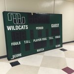 Our new @Daktronics video board and 4 scoreboards are going up this week. Thanks @croucheric #wildcatpower https://t.co/KFY6jkjyzi