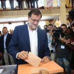 Os animo a todos a votar, disfrutemos de la jornada y demos a #España el futuro que merece #EleccionesGenerales2016 https://t.co/aC5QI7lOyI