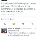 This is CS MATIANGI in response to tweets on fire in schools @sossionsgKNUT @NationFMKe @PeopleDailyKe @KTNNews https://t.co/xm2WLgiNs9