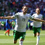 He likes the big occasion! Brady delivers for Ireland again. #EURO2016 #FRAIRL https://t.co/5v4OgPta86