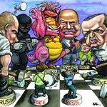 Freedom House Basın Özgürlüğü Raporu için çizilmiş bir karikatür. Dava açar mı dersiniz? #İsrailinDostuErdoğan https://t.co/Aisc5d1sjU