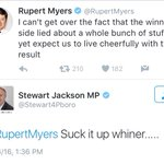 Thats an MP replying to a legitimate point made by a journalist, this is the level of British politics right now. https://t.co/ja1xXlT3Ks