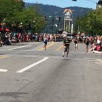 This is the .1 in the 13.1 mile run to the #Imcda703 finish. Best part: all downhill. https://t.co/7JTL8tVlsK
