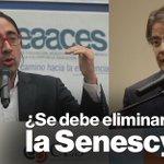 Rene Ramírez invitó a Guillermo Lasso a un debate sobre la eliminación del Senescyt. Pilas @LassoGuillermo acepta! https://t.co/xIS36fMR9V