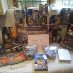 Collection of Star Wars collectables. In auction 28th June #auction #worthing #shoreham #brighton #hove #starwars https://t.co/Zwvvt43NnE