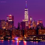 The @EmpireStateBldg and One World Trade Center lit up for #NYCPride and #Pride2016. ????: @isardasorensen #LoveIsLove https://t.co/dgBAD7oxIY