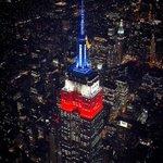 COPA AMÉRICA   Chile celebra mientras el Empire State se ilumina con el blanco-rojo-azul https://t.co/Xst5v9mKOK