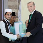 Congrats to Abdul Akher (#Bangladesh) who has become 1st at Int. Holy Quran Memorization Competition in Istanbul https://t.co/ps5lwDqDhC