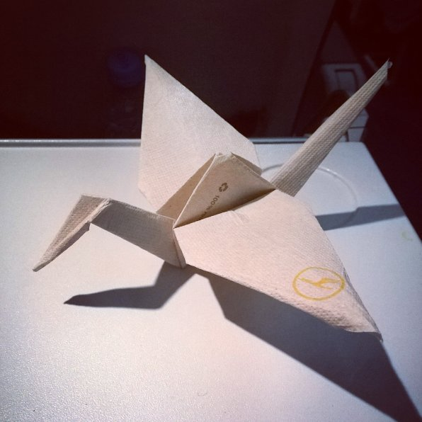 We love seeing creative new ways to pass the time on board!  📷 :