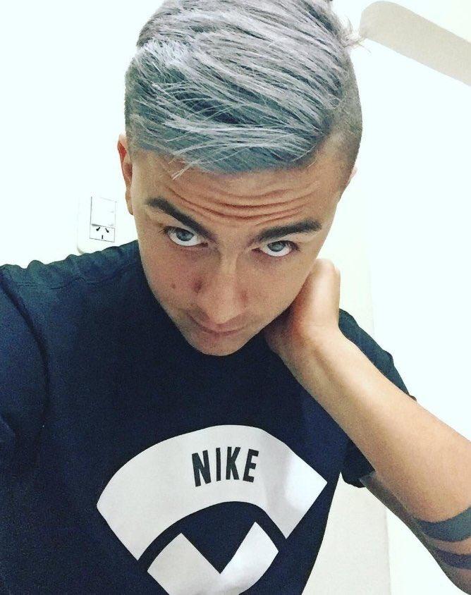 [Image] La nouvelle coiffure de Dybala.