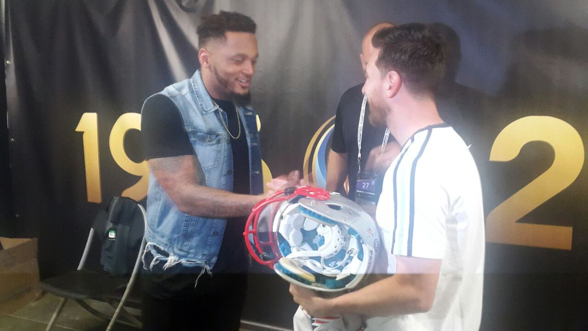 s new england patriots player patrick chung and messi