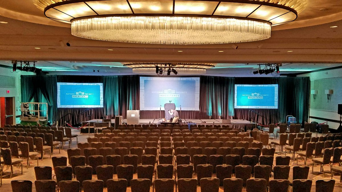 Setting the stage for #CNAS2016! We will stream live at https://t.co/DGU6uy6wby. Tune in tomorrow at 9:30am! https://t.co/wL4UXbRuip