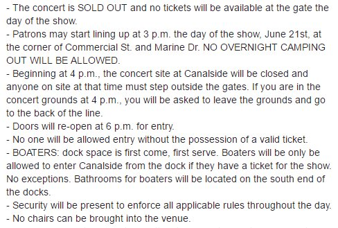Here is all the info. you need to know for @twentyonepilots tomorrow: https://t.co/WqnbyTaWsa