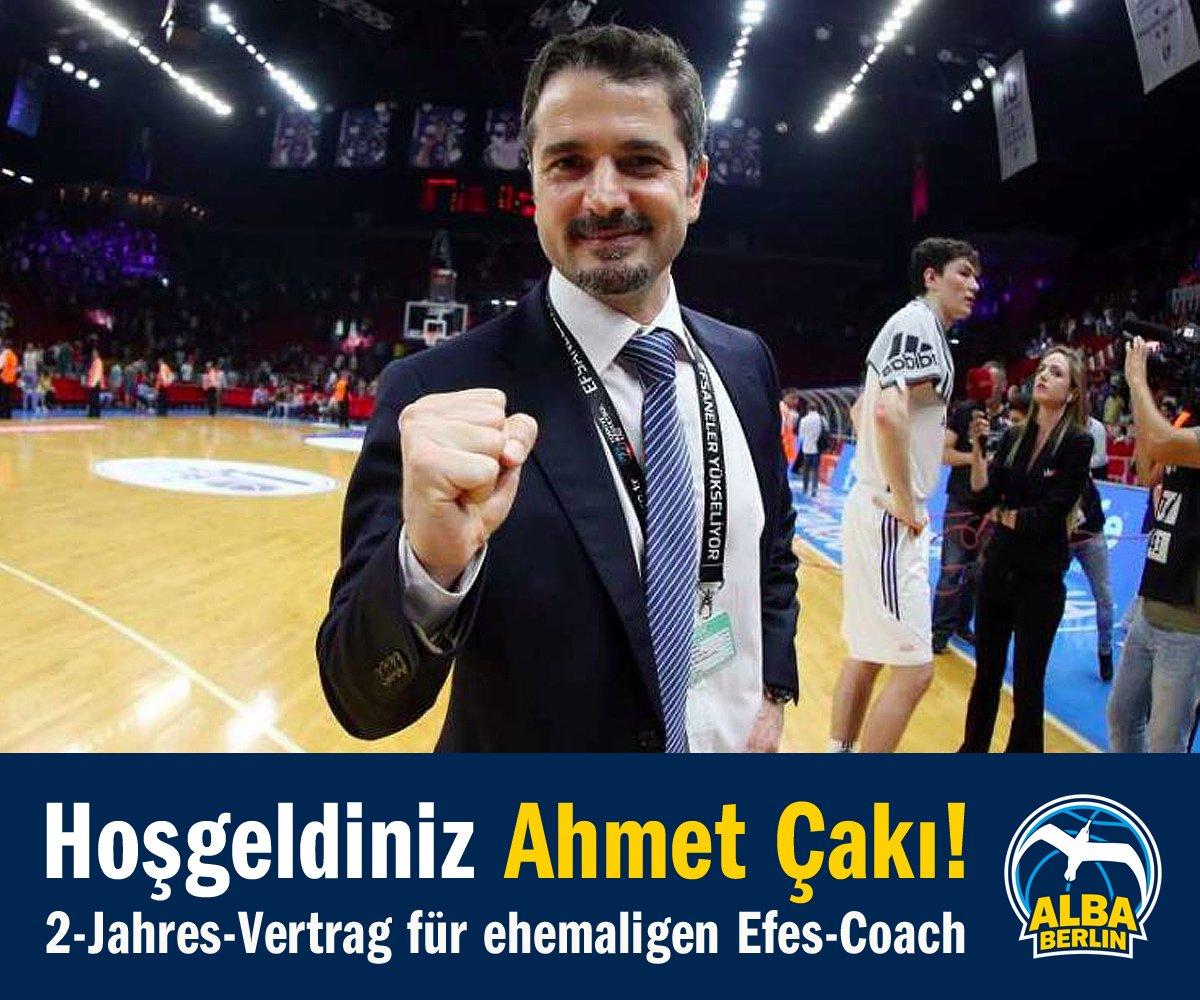 Wir haben einen neuen Cheftrainer. Herzlich Willkommen / Hoşgeldiniz Ahmet Çakı! Alle Infos: https://t.co/AIKnSGUOz3 https://t.co/h8wsHN4LIh