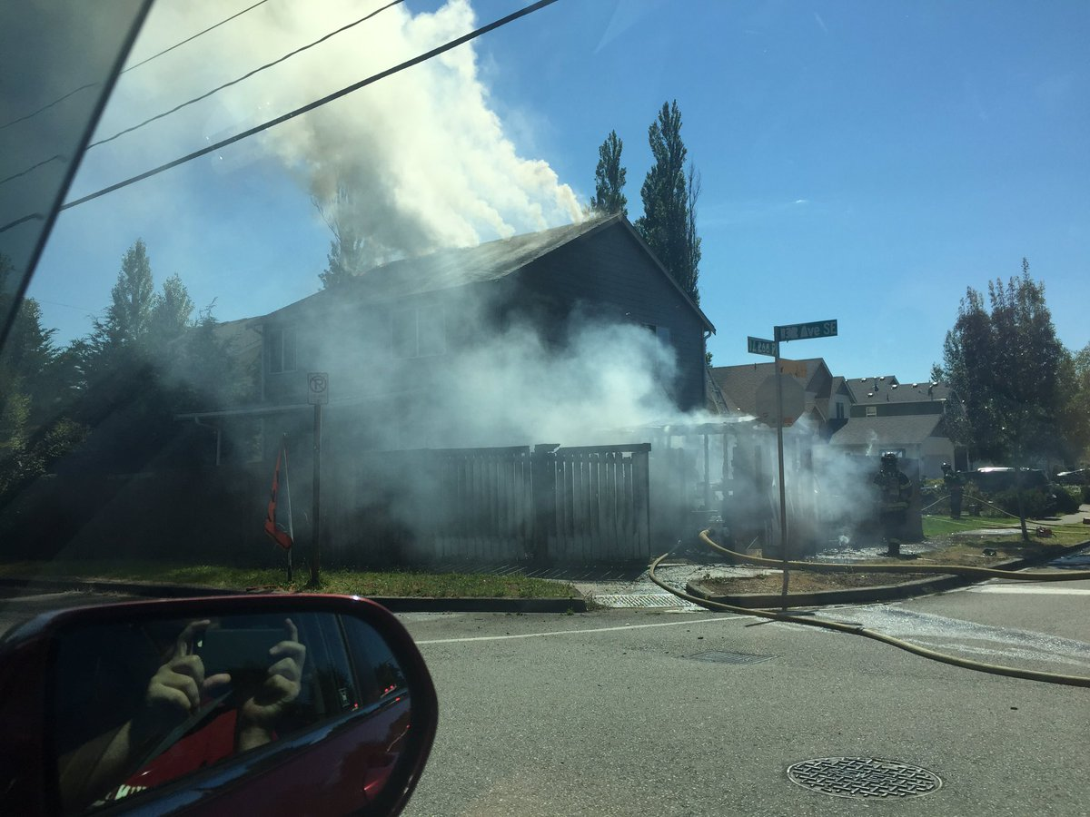 @KING5Seattle @komonews Big house fire at 132nd & Kent-Kangley 132nd is closed https://t.co/jkBkcErrgz