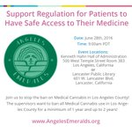 Join us tomorrow morning to stop the ban on #MedicalCannabis in #LosAngeles county! @AngelesEmeralds https://t.co/MK2Rk2sJiZ
