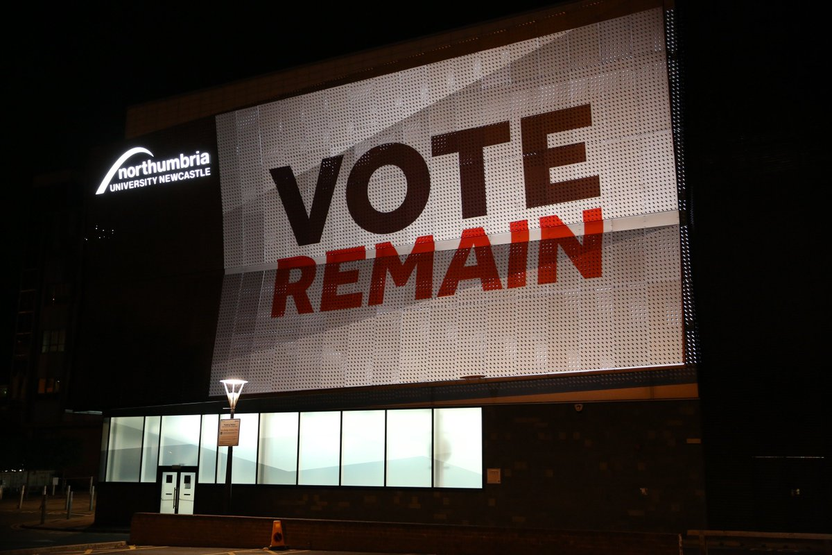 Northumbria University and #EURef - our view: https://t.co/75k075vRtY #VoteRemain https://t.co/lEdCzQmPci