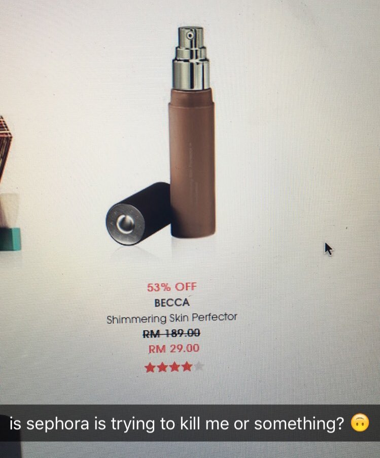 i swear sephora's website is messing with my head right now. and my heart too