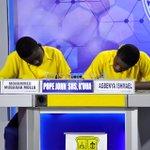 #NSMQ2016 Q/F: Ghana Nat. College: 47pts Presby Sec Tech: 42pts Pope John SHS: 35pts Congrats Ghana National https://t.co/evpaYSaHru