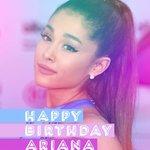 IM SO INTO TODAY. ???? Its @ArianaGrandes birthday! Happy birthday, Ariana! https://t.co/7BGlH8LdYL